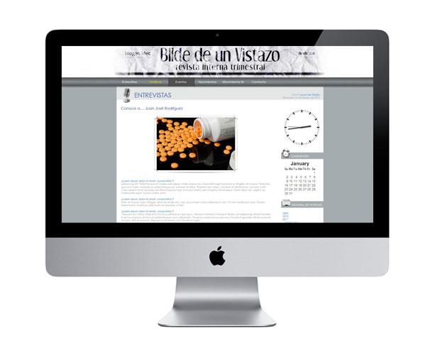 Revista Online Biogen Idec Thinkaboutplanet Publicidad