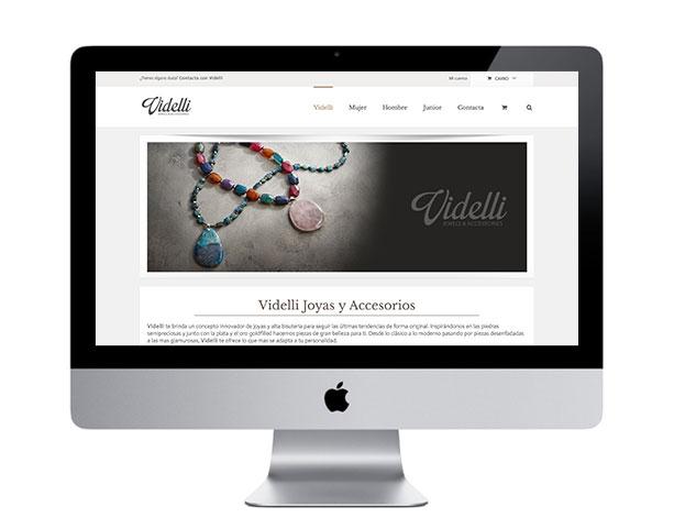 Web comercial videlli